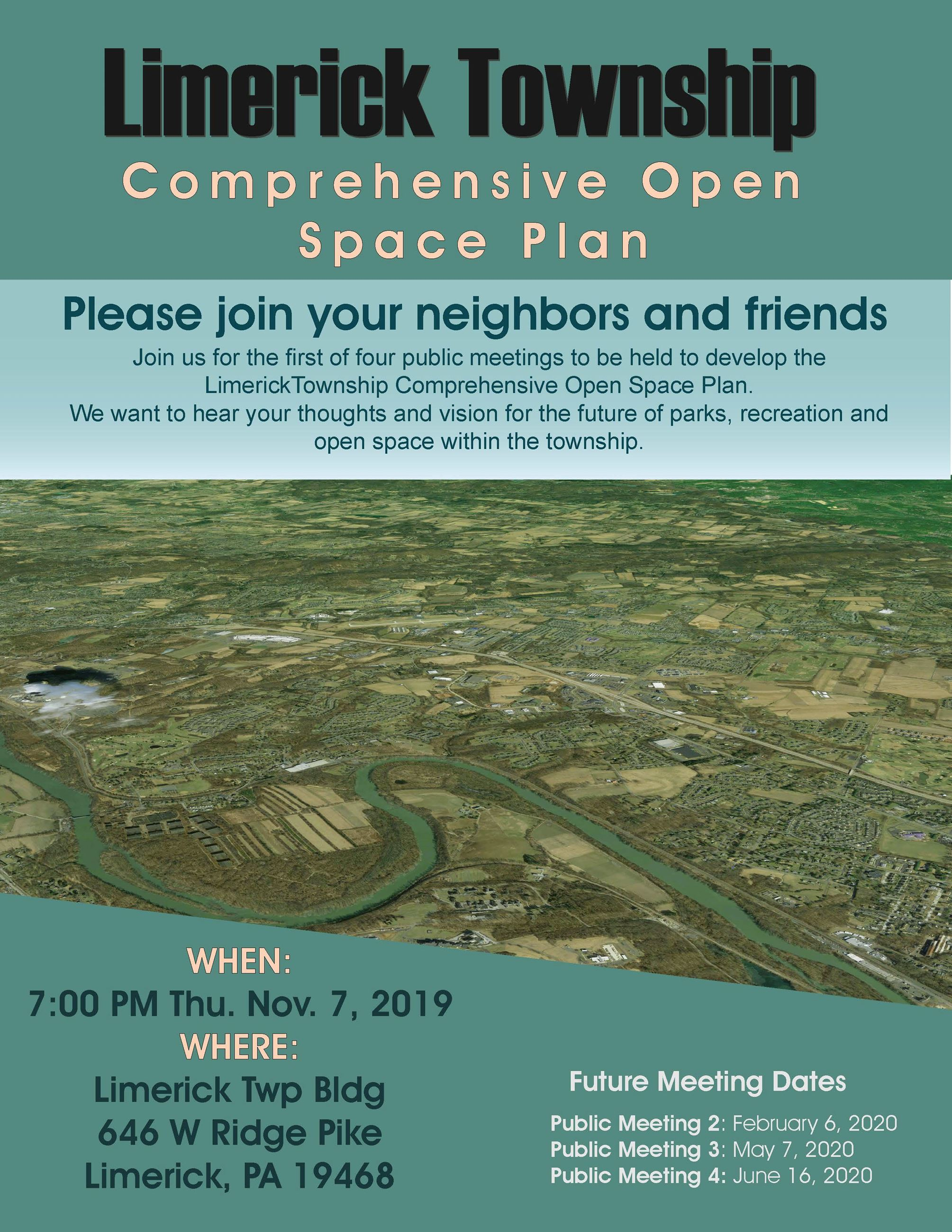 Open Space Flyer - Next Meeting November 7