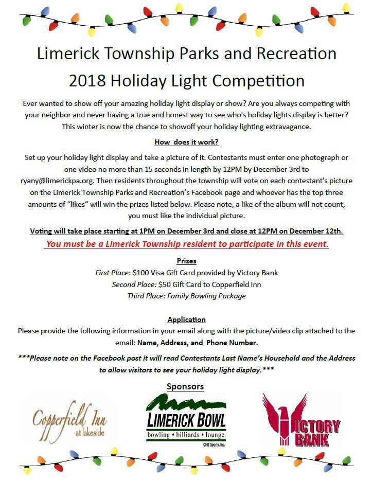 Holiday Light Competition